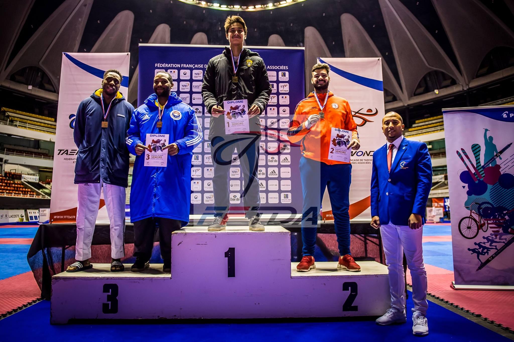 Une victoire sur le fil pour Tuarai Hery, champion de France élite de taekwondo