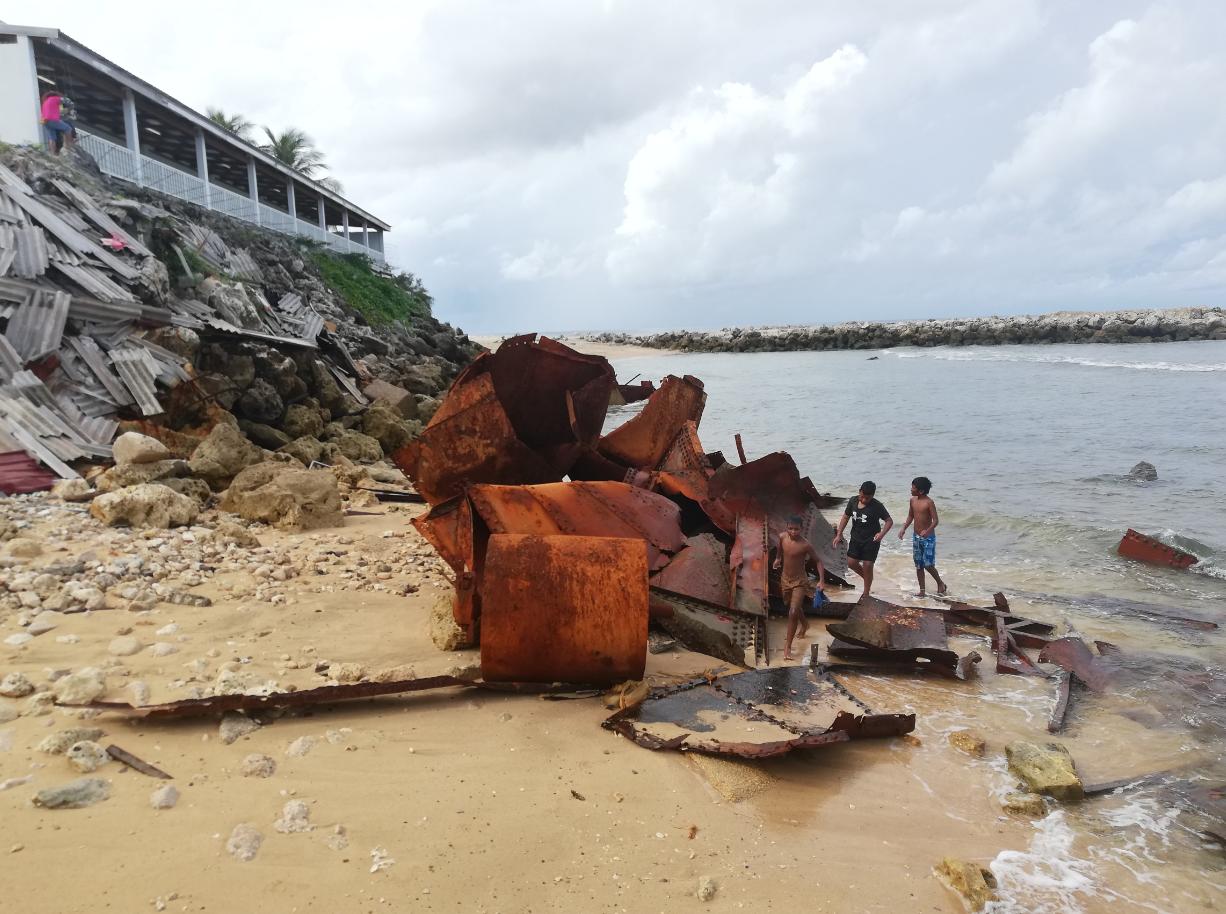 Certains réfugiés sont exilés sur l'île de Nauru depuis quatre, voire cinq ans. Crédit Mike Leyral.
