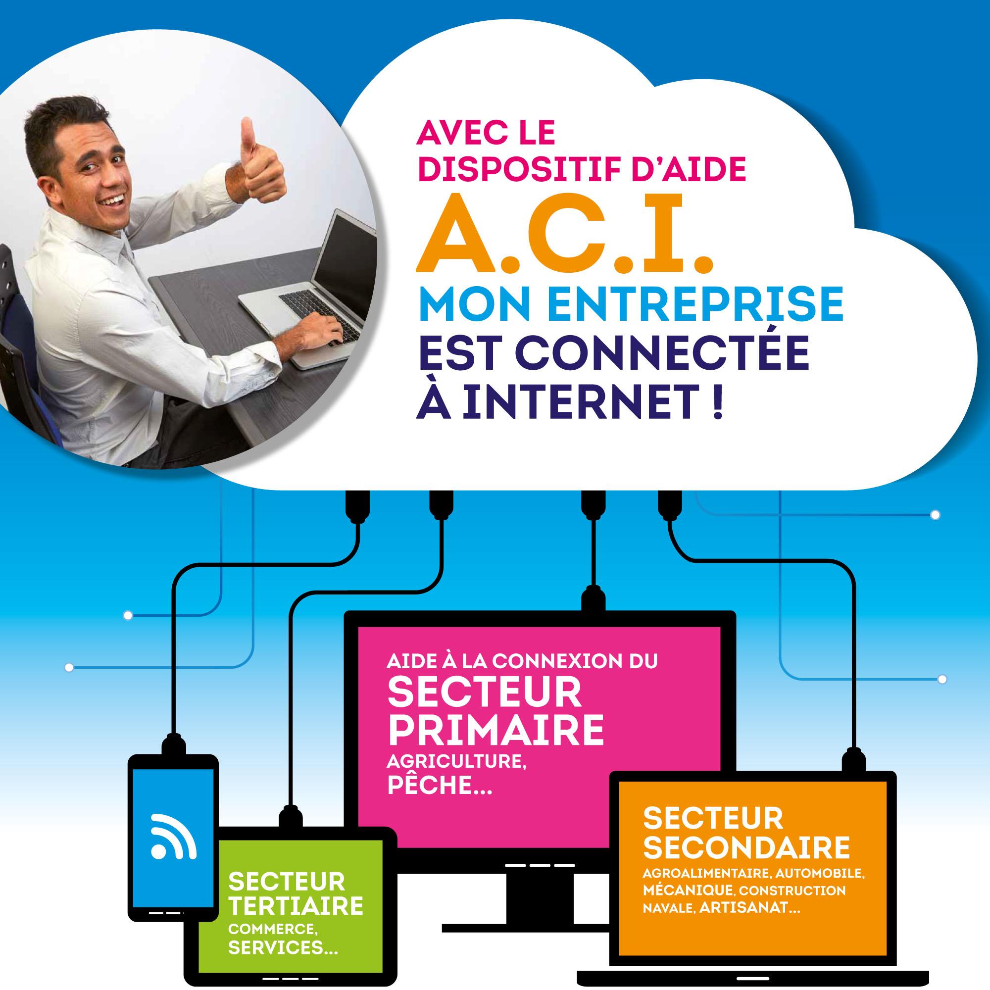 Internet : Une aide allant jusqu'à 200 000 francs pour connecter les entreprises