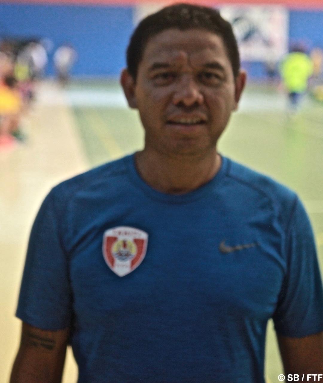 Jean-Baptiste Barsinas, coach de la sélection de Tahiti