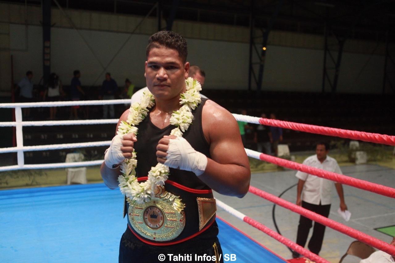 Le titre de champion de Polynésie n'était qu'une étape pour Ariitea Putoa
