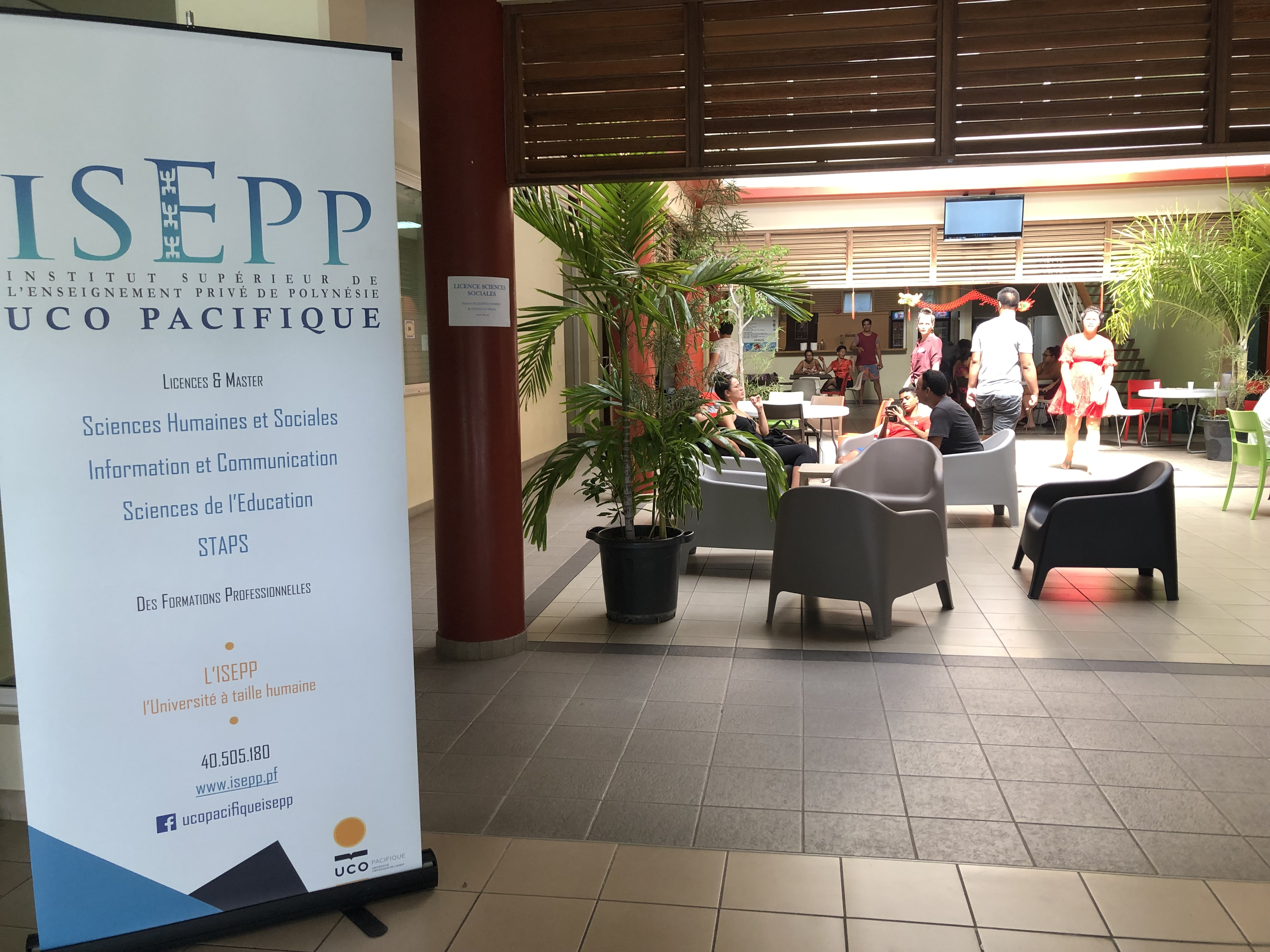 L'ISEPP propose actuellement cinq formations universitaires toutes sanctionnées par des diplômes d'états. Le campus est également intégré à l'Université Catholique de l'Ouest (UCO) situé à Angers