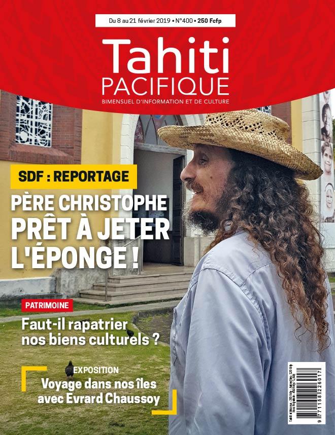 À la Une de Tahiti Pacifique, vendredi 8 février