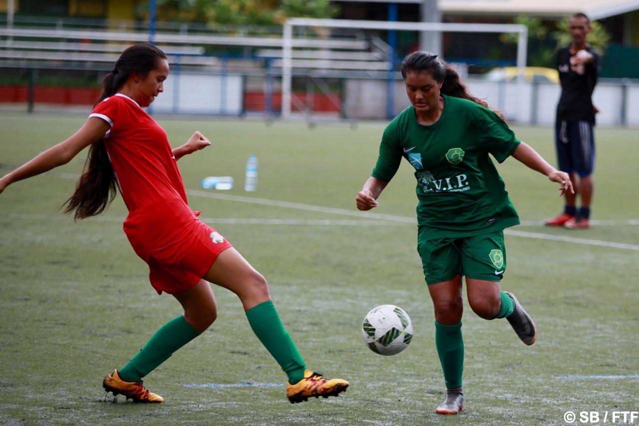 Le football féminin est en progression à Tahiti