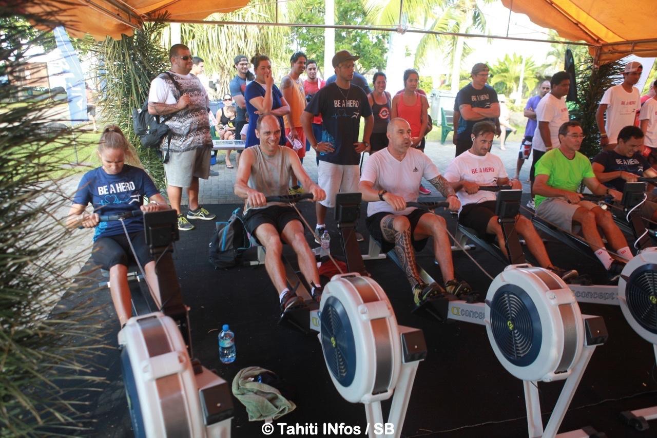 L'aviron indoor se développe en Polynésie