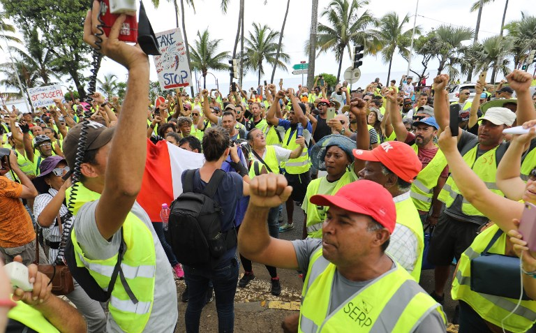 """A La Réunion, le mouvement des """"gilets jaunes"""" a été """"pire qu'un cyclone"""" pour l'économie"""