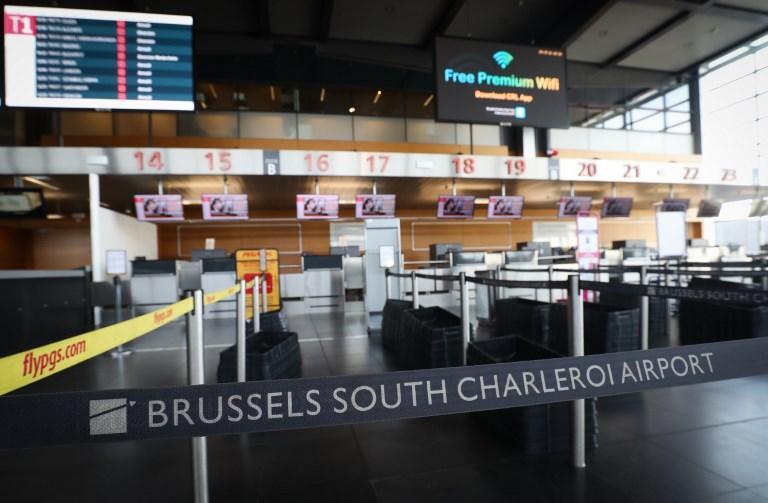 Une grève générale met la Belgique au ralenti