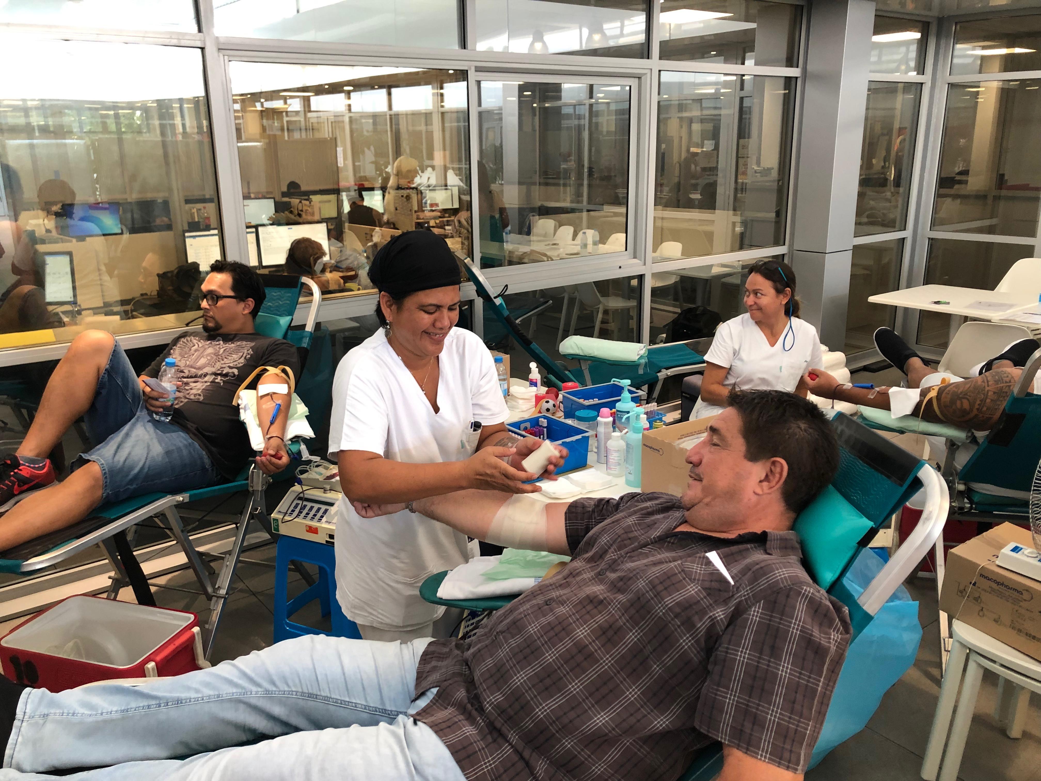Fenua Communication, Vodafone et Shell se mobilisent pour le don du sang