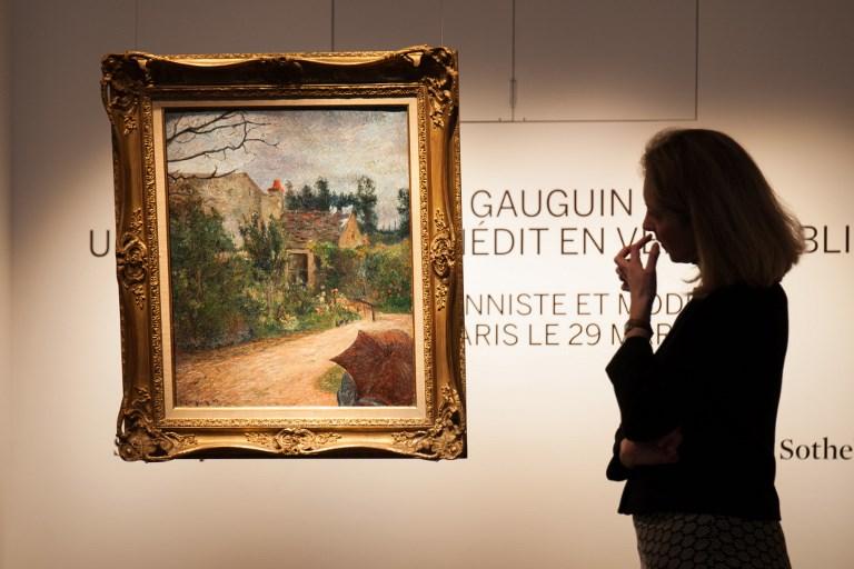 Un Gauguin méconnu mis aux enchères à Paris