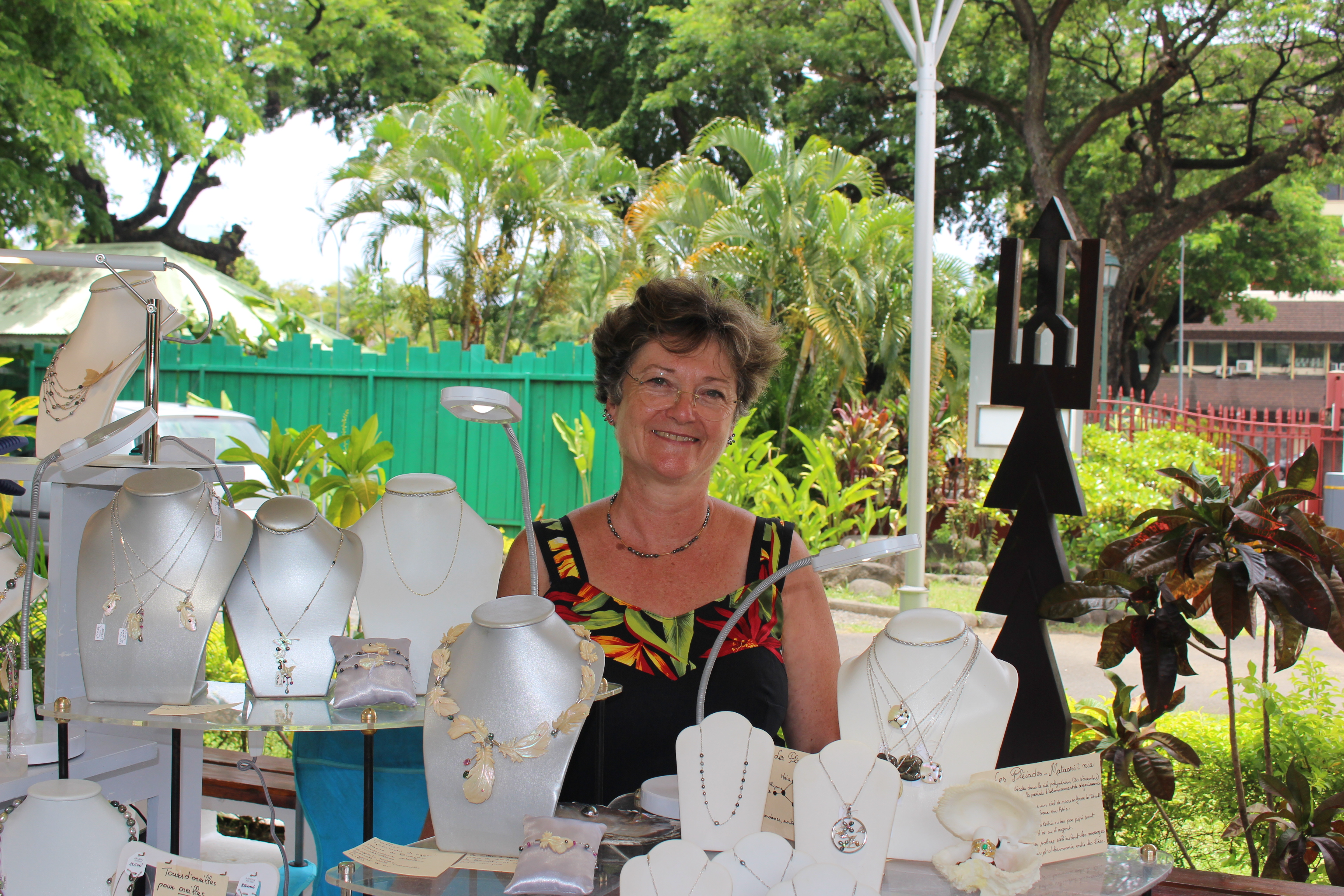 Marie-Andrée Pierrard, l'art de la joaillerie pour héritage