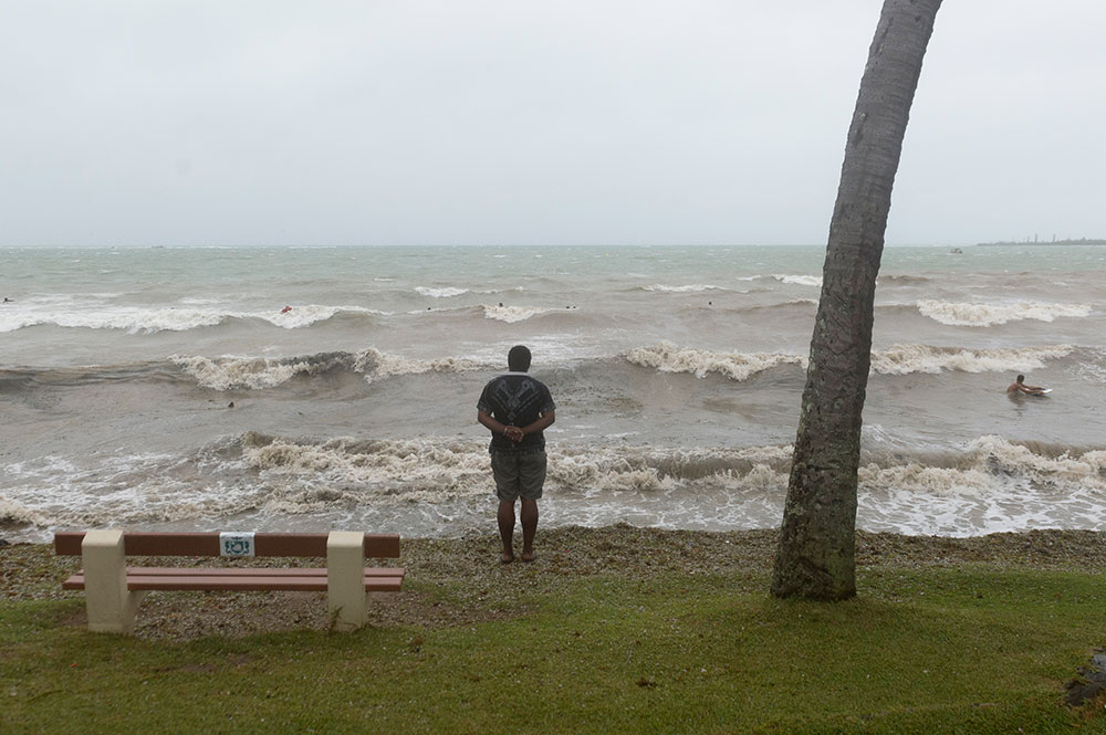 Alerte cyclonique maximale dans 7 communes de Nouvelle-Calédonie