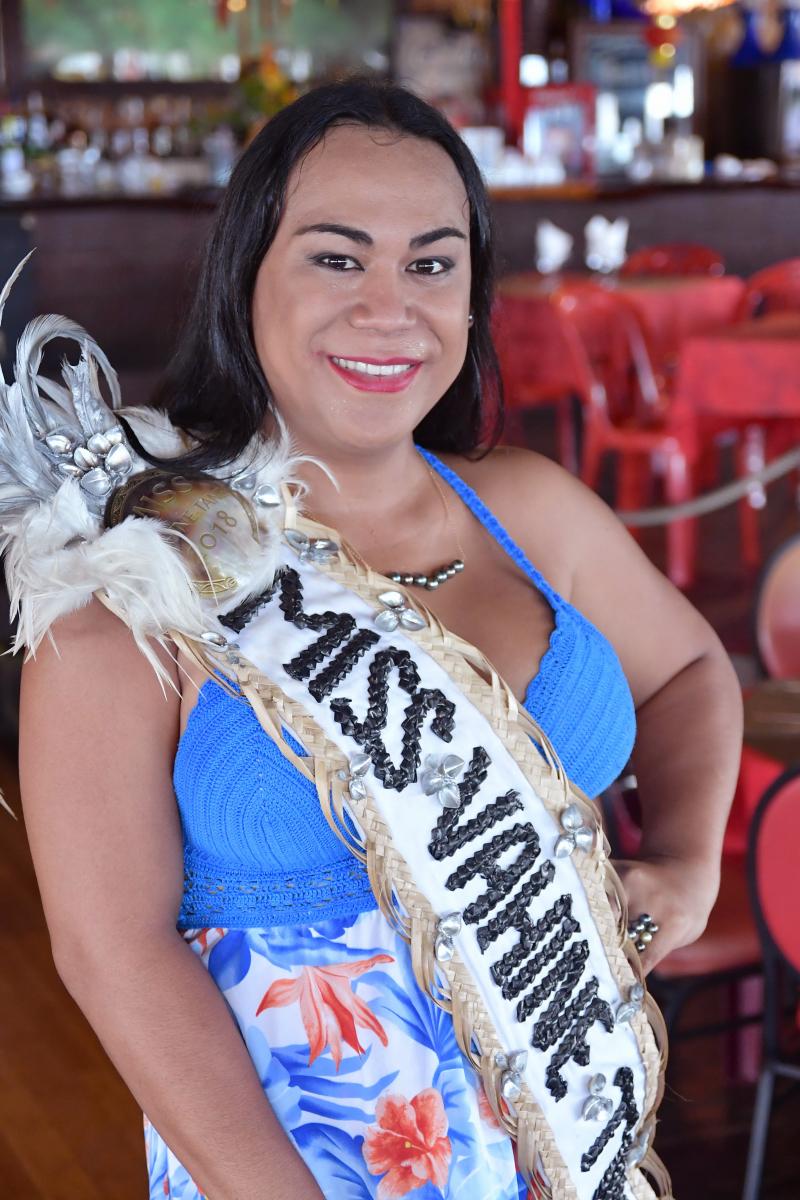Tara Pati, Miss Vahine Tane 2018.