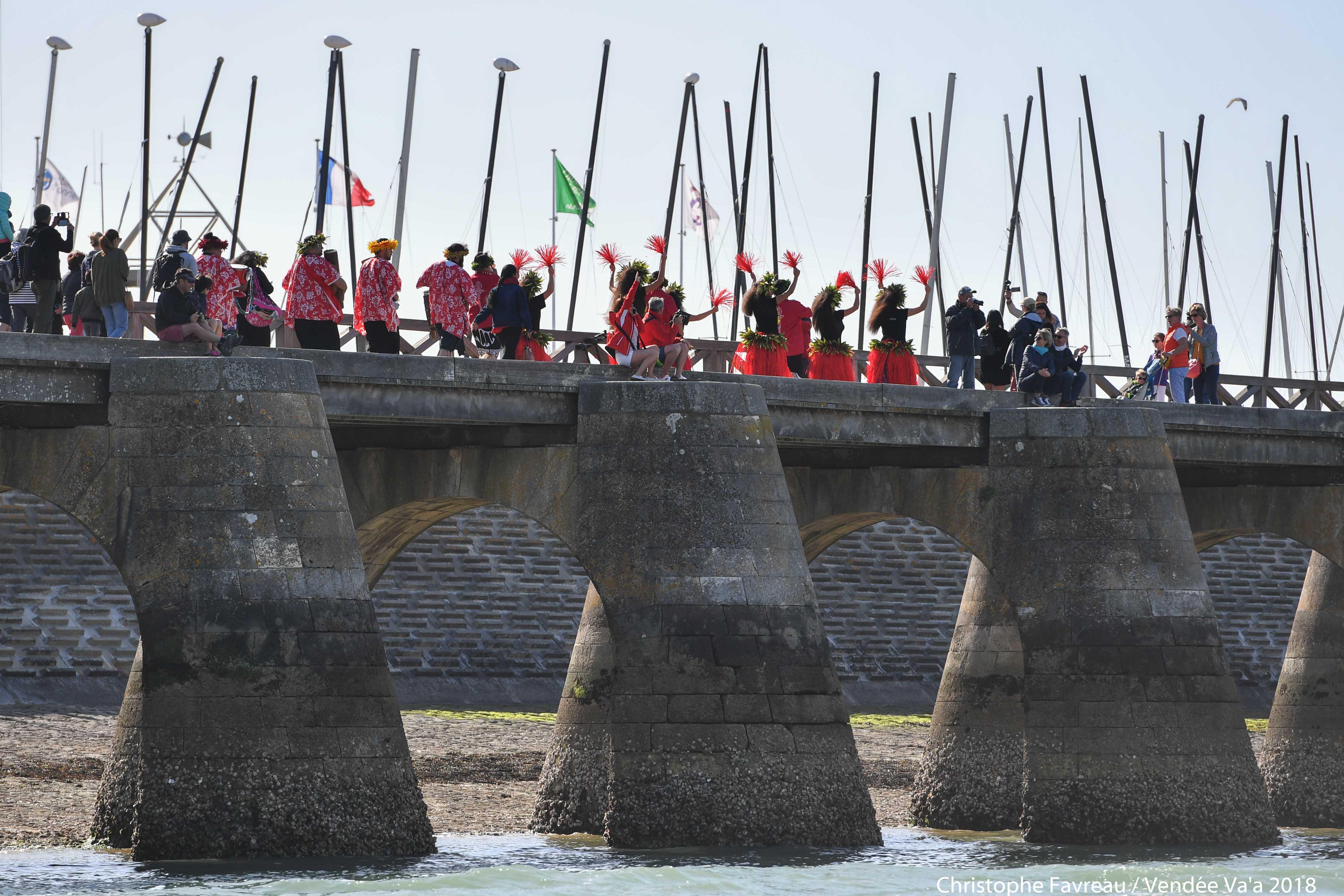Le Vendée Va'a fait également la promotion de la culture polynésienne