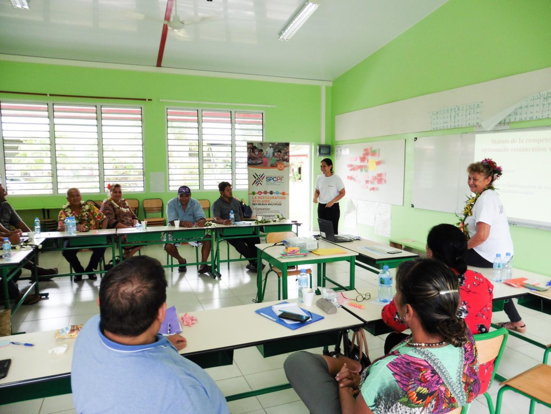 7-Durant trois jours, les élus des Raromata'i sont en séminaire à Huahine.