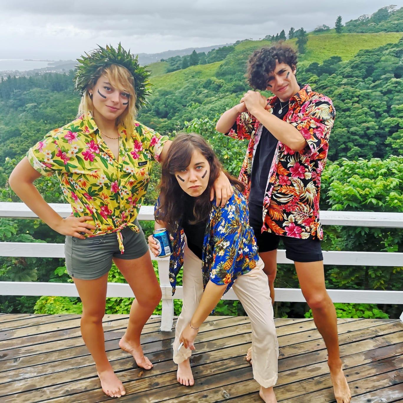 """Hyphen Hyphen : """"On va tout donner sur scène à Tahiti"""""""