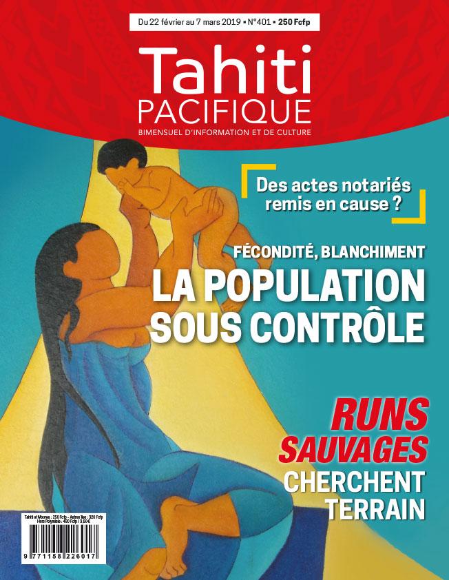 À la Une de Tahiti Pacifique, vendredi 22 février