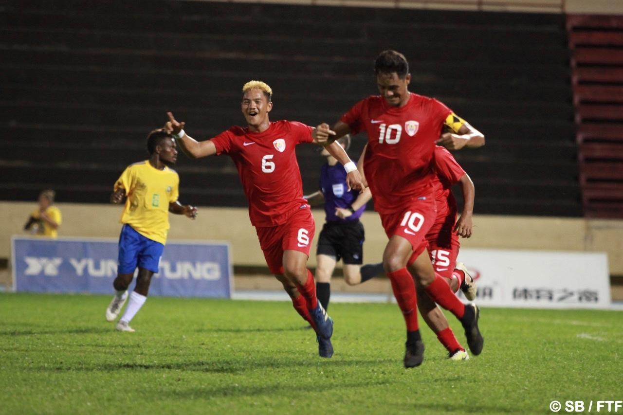 Terai Brémond a joué un rôle central dans la qualification des U20 pour la Coupe du monde