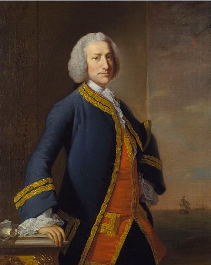 Lord Anson, personnage clé de l'histoire du trésor de l'île de Robinson Crusoé, puisqu'il en a lui-même enterré un…