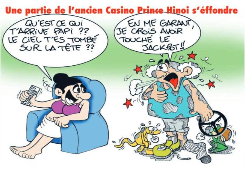 """ L'ancien Hôtel Prince Hinoi "" vu par Munoz"