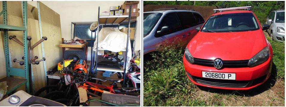 Des voitures, moteurs hors-bord, meubles et électroménager aux enchères