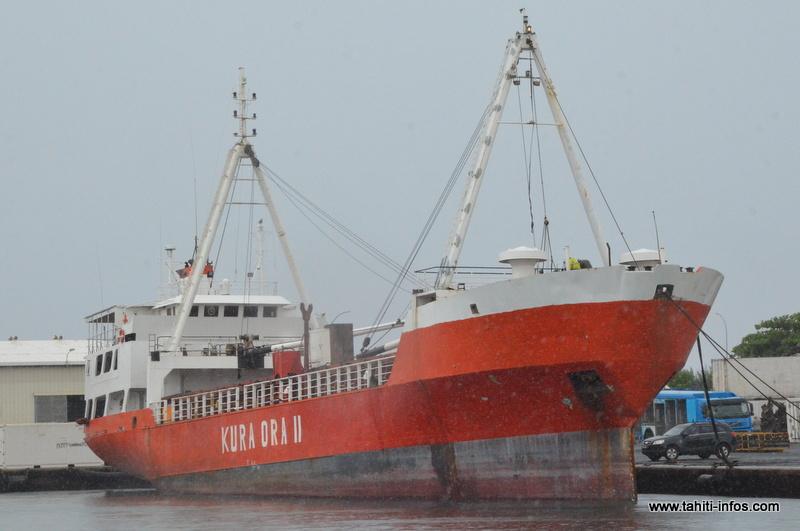 Kura Ora II : le navire à saborder était une poubelle industrielle toxique