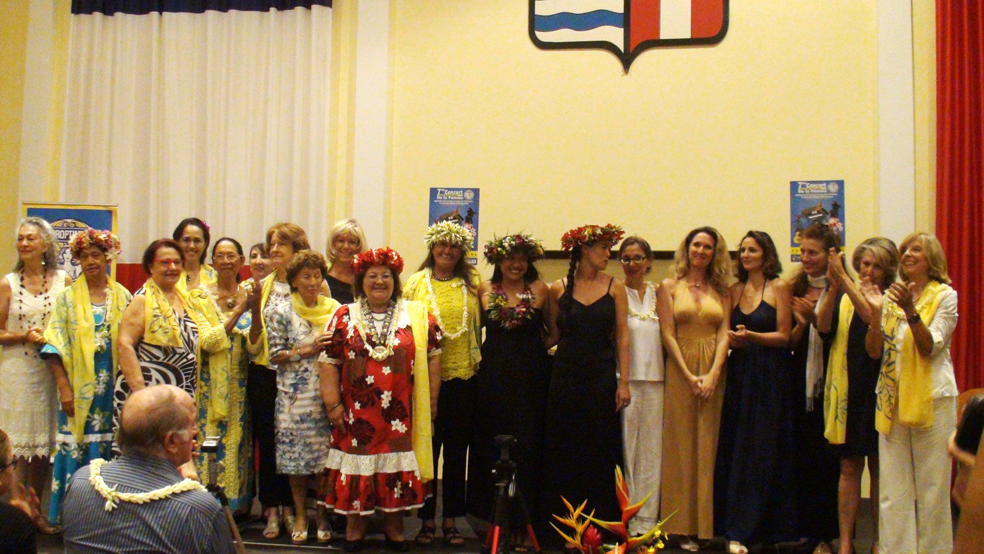 Le concert de la femme a lieu tous les ans, organisé par les membres du Soroptimist international en partenariat avec le Conservatoire artistique de Polynésie française, ici lors du 7e concert de la femme.
