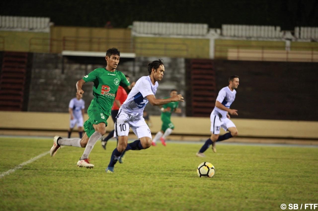Encore deux buts pour Teaonui Tehau, instoppable