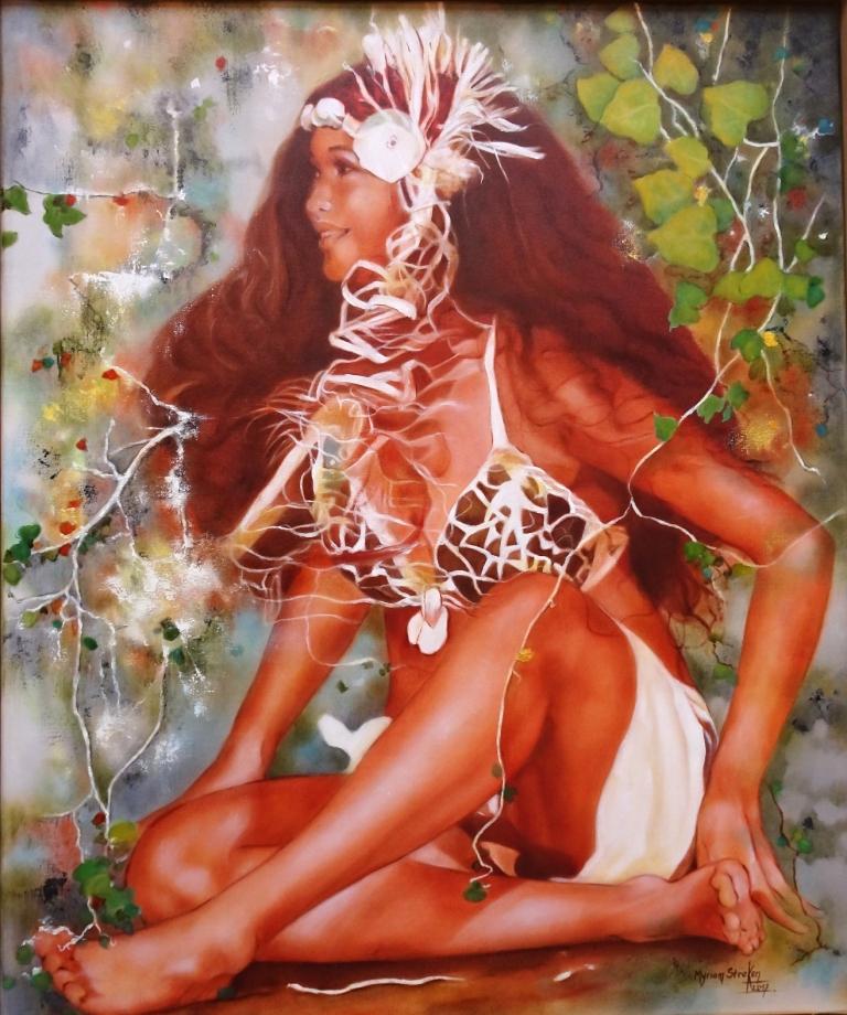 Myriam Stroken de retour à la galerie des Tropiques