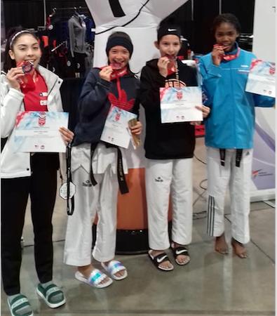 Taekwondo – US Open : Médaille d'argent pour Bradley Lai Koun Sing
