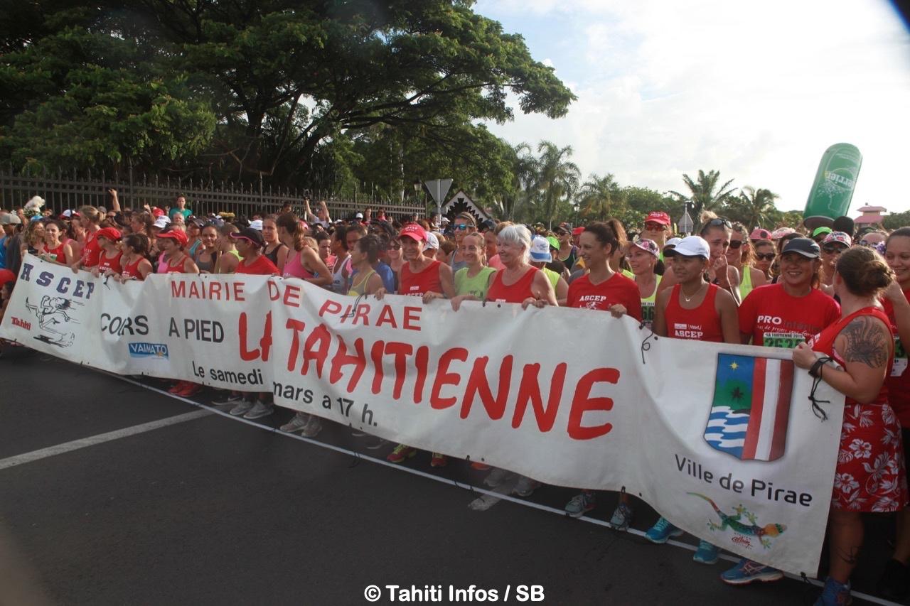 Pas moins de 4 600 femmes étaient au départ de la Tahitienne 2019