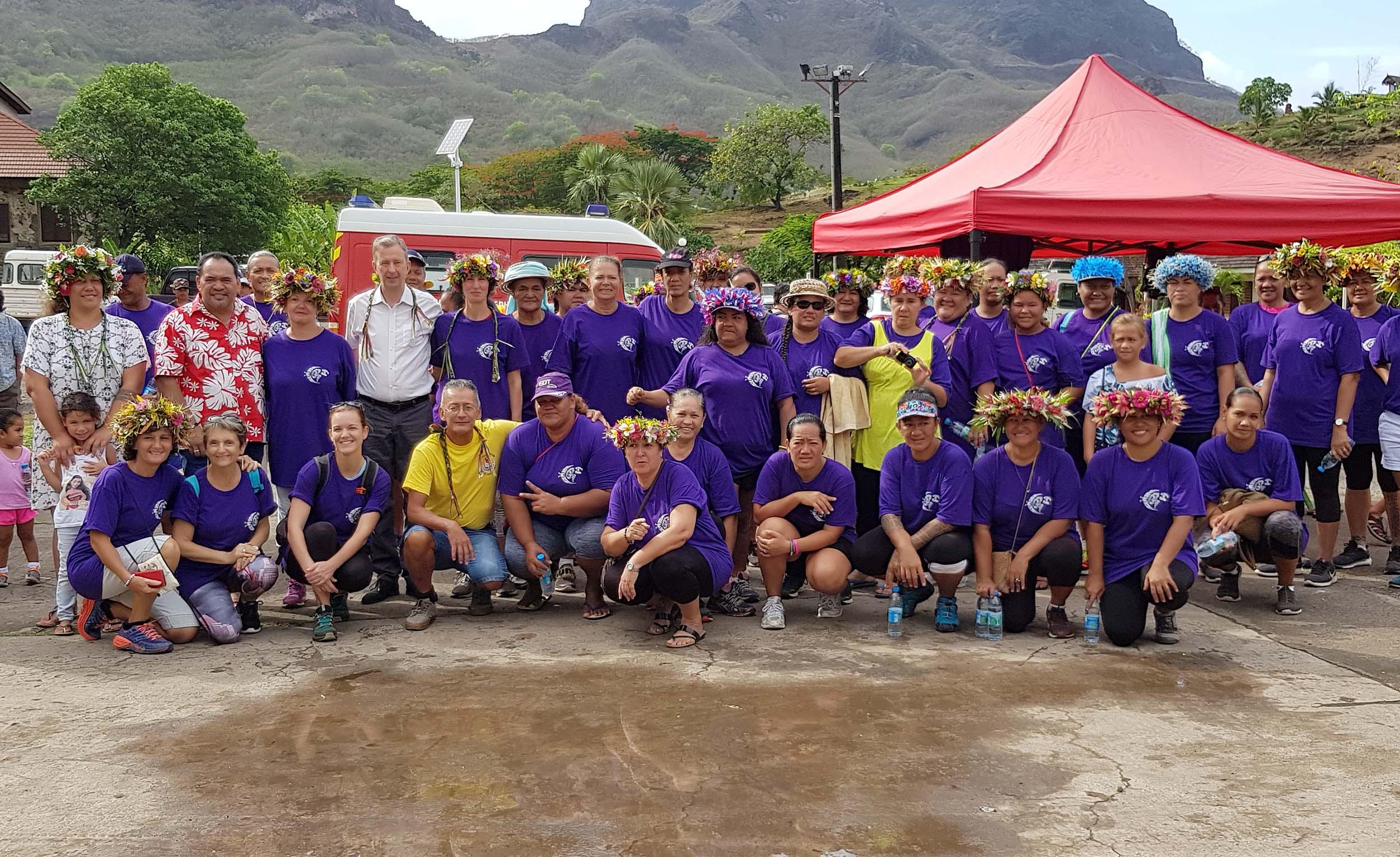 Une journée de la femme sportive à Nuku Hiva