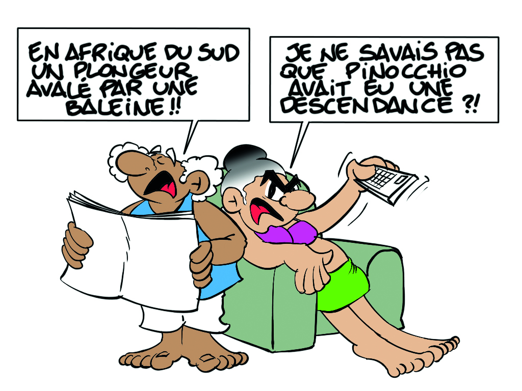 """"""" Le plongeur et la baleine """" par Munoz"""