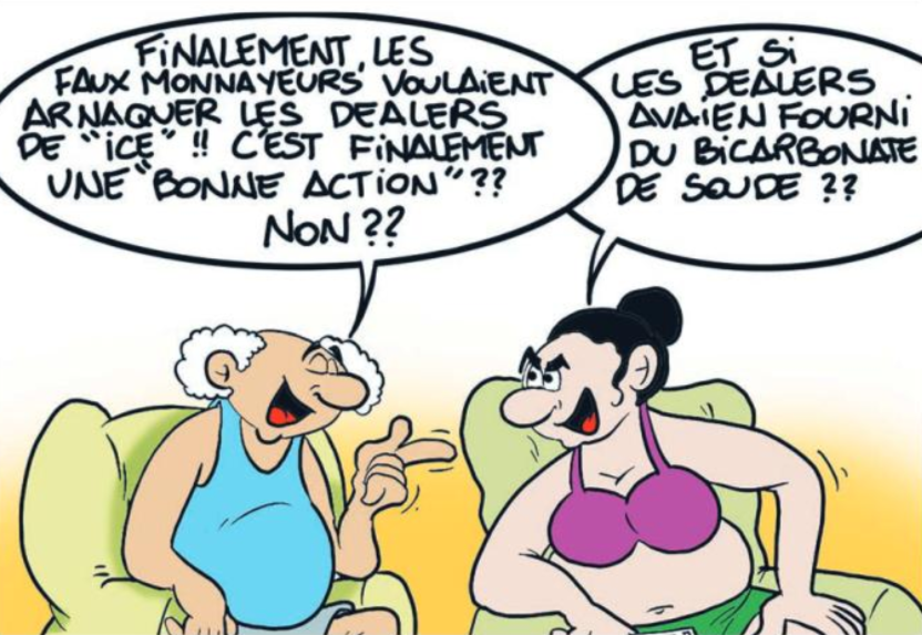 """"""" Faux billets """" vu par Munoz"""