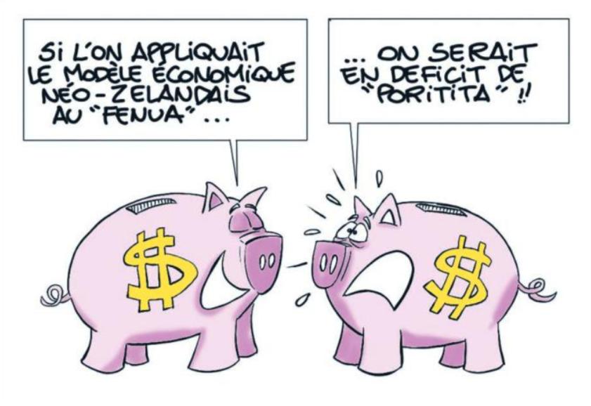 """"""" Le modèle économique néo-zélandais """" vu par Munoz"""