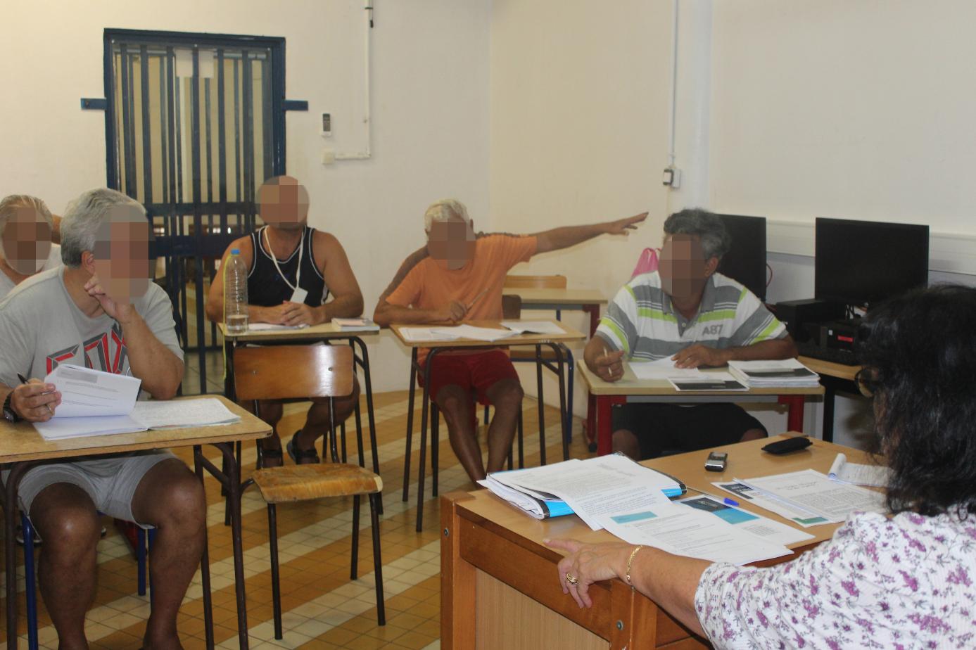 Pendant deux heures, les détenus ont soumis leurs contributions dans le cadre du Grand Débat.