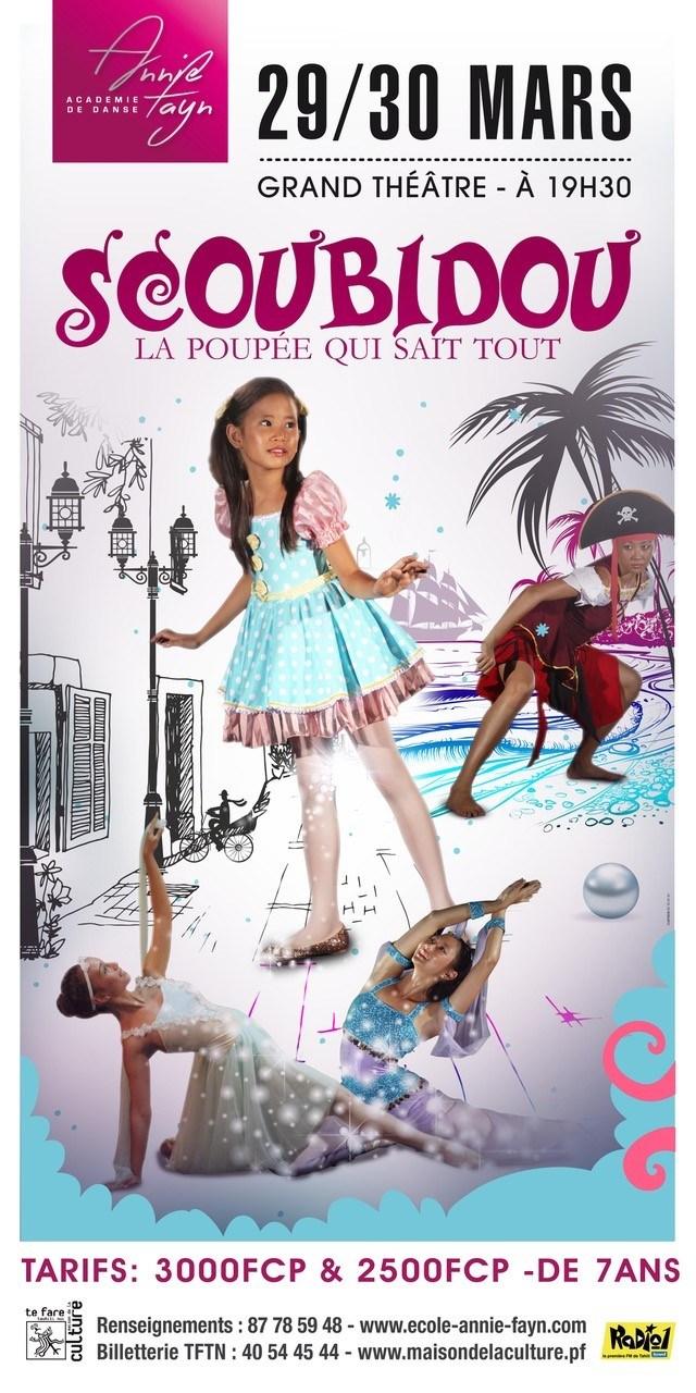 """Découvrez l'univers magique de Scoubidou, """"la poupée qui sait tout"""""""