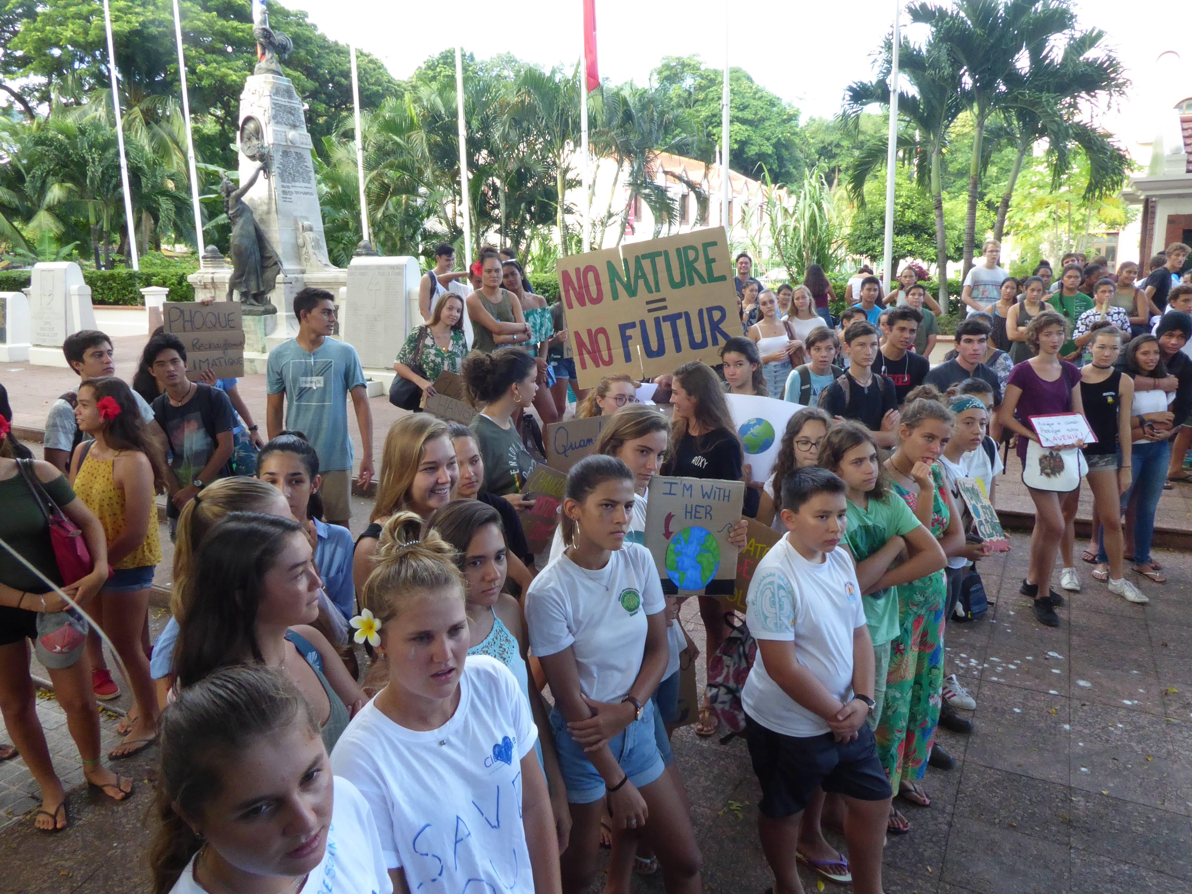 Marche pour le climat : 200 jeunes mobilisés