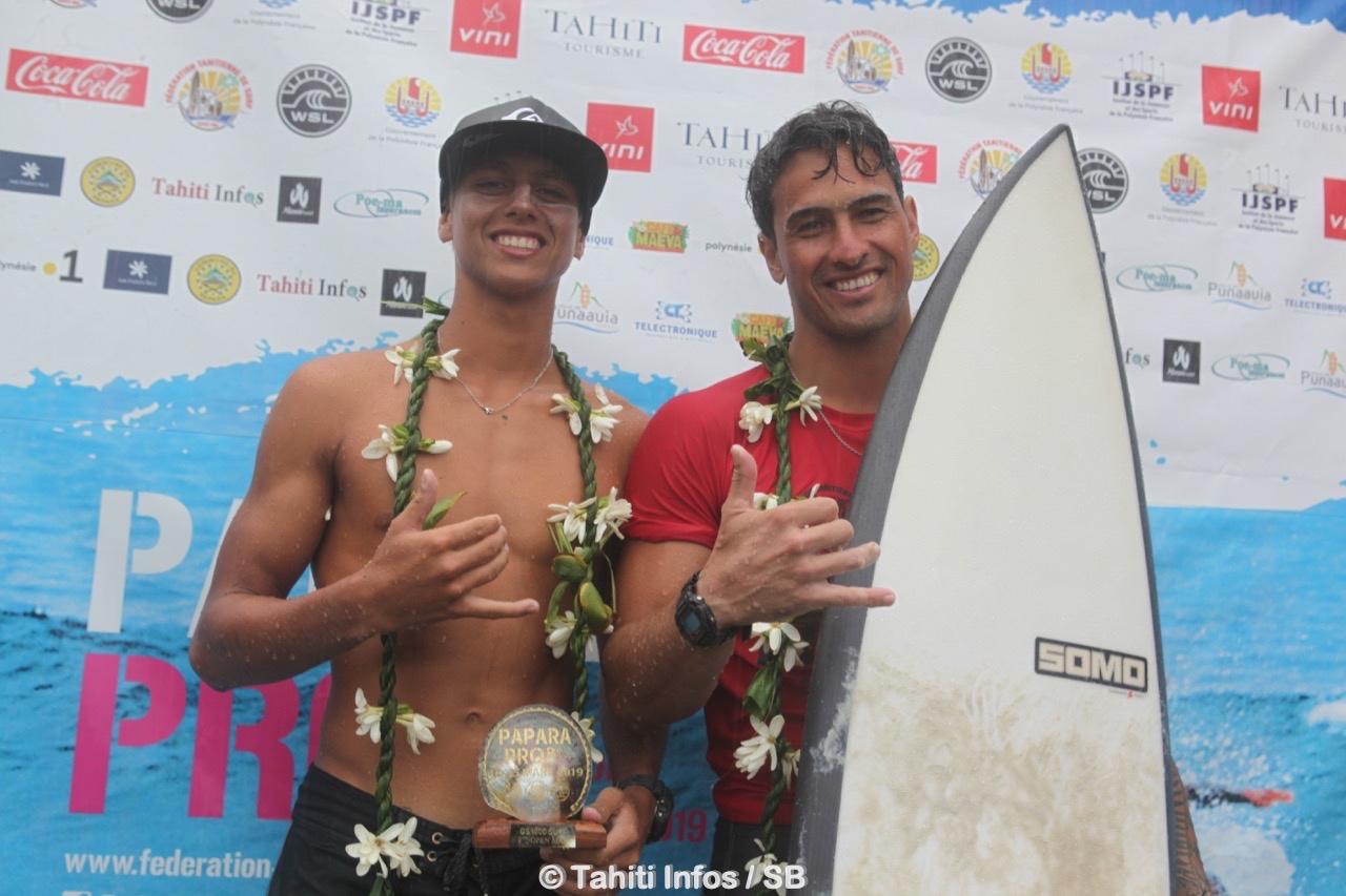 Surf Pro – Papara Pro : Taumata Puhetini gagne la finale