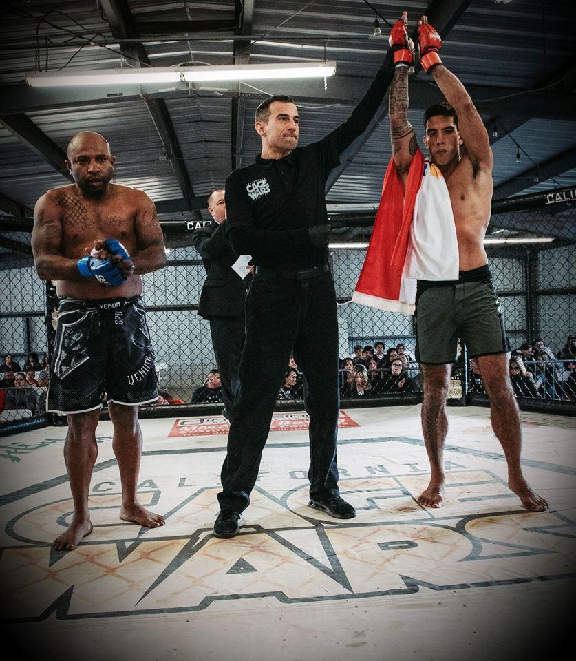 MMA – California Cage Wars : Encore une victoire expéditive pour Dudes