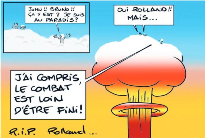 """ Hommage à Roland Oldham "" par Munoz"
