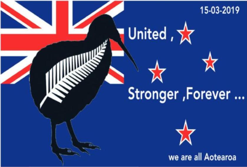 """"""" Les attentats en Nouvelle-Zélande """" par Munoz"""