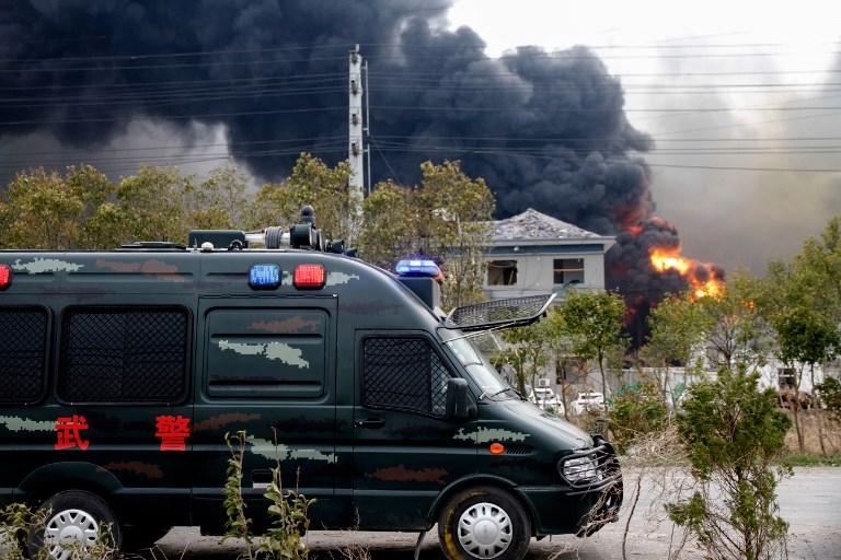 Explosion dans une usine chimique en Chine : 6 morts et 30 blessés graves