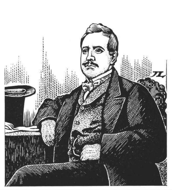 Un portrait  de John Brander, associé de Salmon et redoutable homme d'affaires.