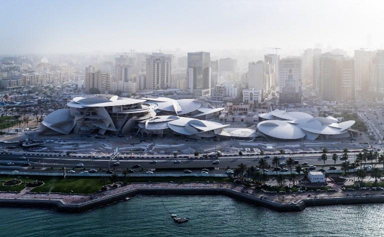 Musée national du Qatar: éclosion de la rose des sables de Jean Nouvel