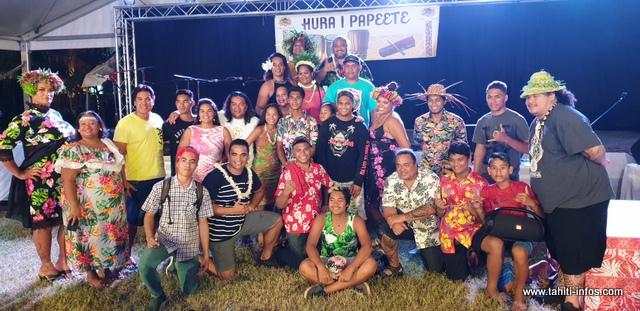 Mama'o arrive à la seconde place. Ce quartier a remporté plusieurs prix durant ce Hura i Papeete.