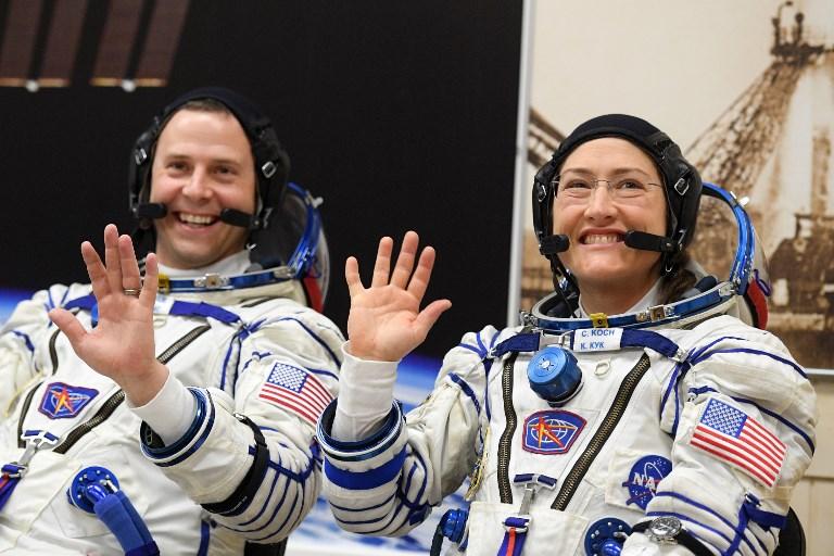 """Pas assez de combinaisons taille """"M"""": la Nasa annule la sortie spatiale 100% féminine"""