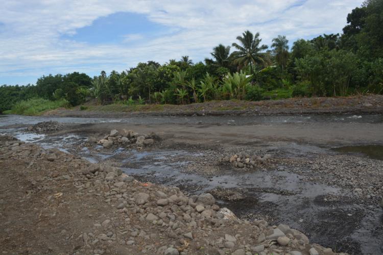 Le marché des protections de berges de la côte Ouest de Tahiti annulé