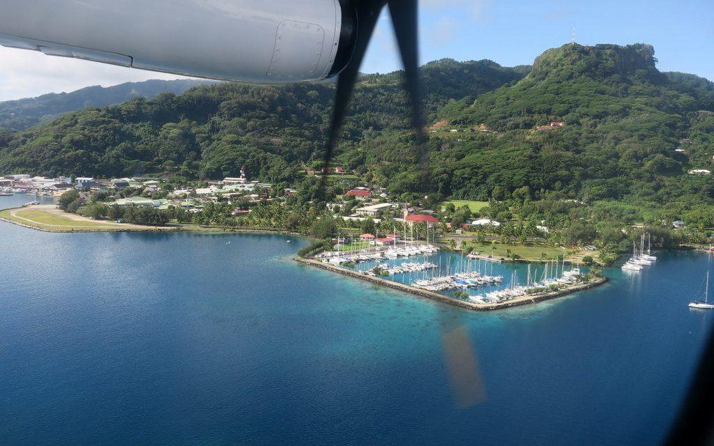 La justice annule l'arrêté prononçant l'utilité publique de la marina de Tevaitoa (Photo d'illustration : Marina de Uturoa, Raiatea - DR Port autonome).