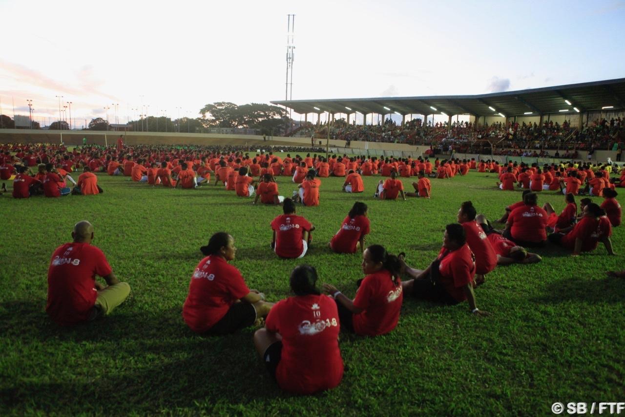 Pas moins de 2000 personnes participantes