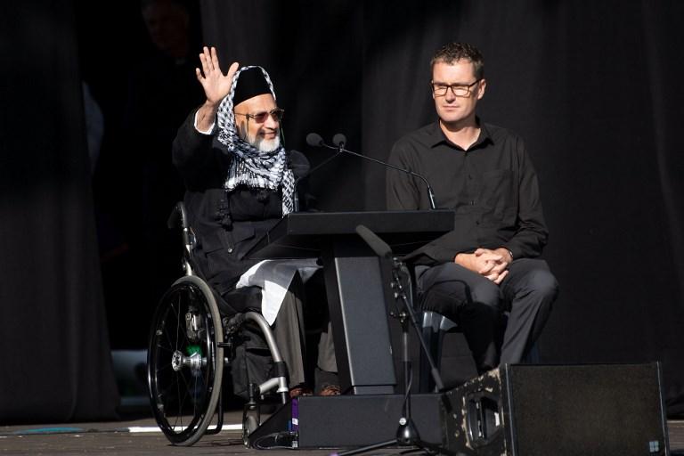 """Cérémonie du souvenir: """"je choisis la paix"""", dit un survivant des mosquées de Christchurch"""